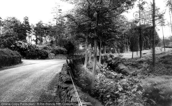Photo of Wildboarclough, Hall Lane c.1960