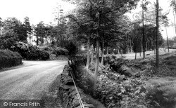 Wildboarclough, Hall Lane c.1960