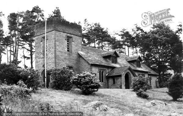Photo of Wildboarclough, St Saviour's Parish Church c.1960