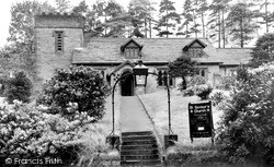 Wildboarclough, St Saviour's Parish Church c.1960