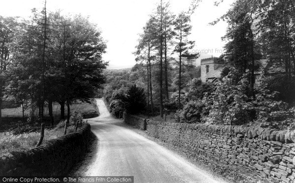 Photo of Wildboarclough, The Church From Hall Lane c.1960