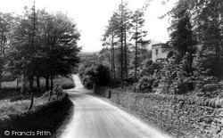 Wildboarclough, The Church From Hall Lane c.1960