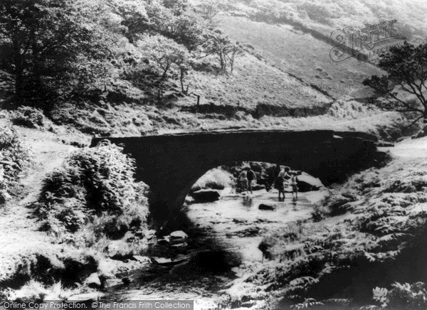 Photo of Wildboarclough, Three Shires Bridge c.1960