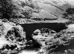 Wildboarclough, Three Shires Bridge c.1960