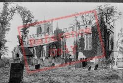 St Wilfrid's Church 1890, Wilford