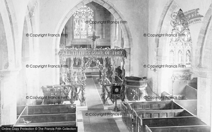 Photo of Wilford, St Wilfrid's Church, Nave 1890