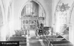 St Wilfrid's Church, Nave 1890, Wilford