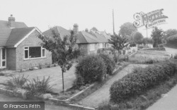 Bungalows, Wybunbury Road c.1965, Willaston