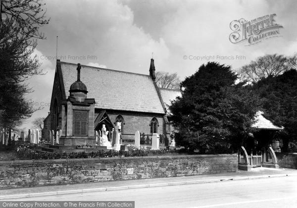 Photo of Willaston, Christ Church And Memorial c.1940