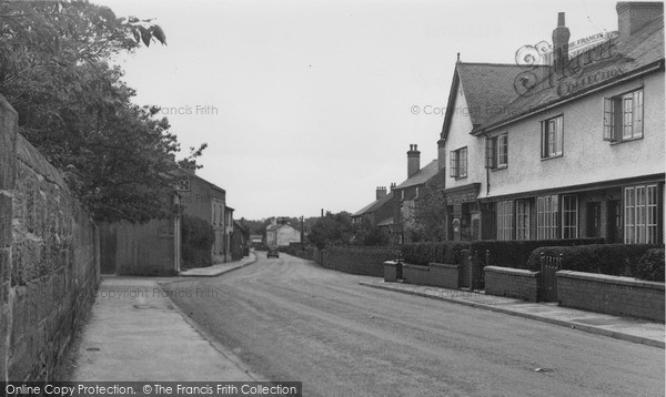 Photo of Willaston, Hadlow Road c.1955