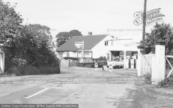 Photo of Willaston, Hadlow Road, Filling Station c.1965