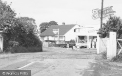 Willaston, Hadlow Road, Filling Station c.1965
