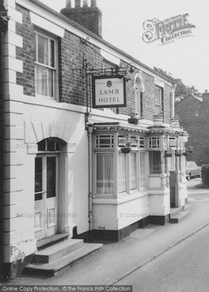 Photo of Willaston, Lamb Hotel c.1965