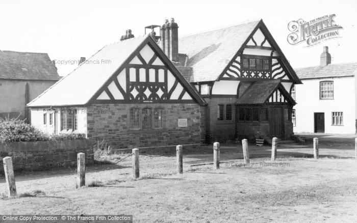 Photo of Willaston, Memorial Hall c.1960