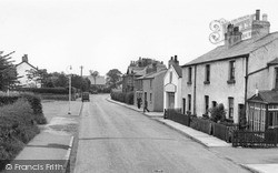 Willaston, Neston Road c.1955