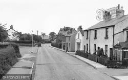 Neston Road c.1955, Willaston