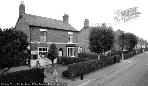 Photo of Willaston, Post Office c.1965