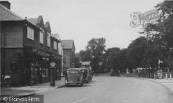 Willaston, Post Office, Neston Road c.1955