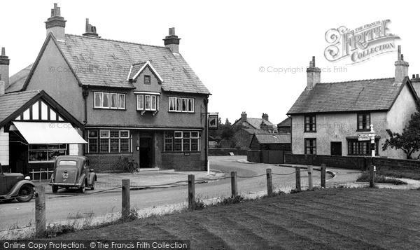 Photo of Willaston, The Nags Head Inn c.1955
