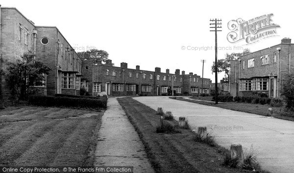 Photo of Willaston, The New Estate c.1955