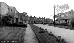 Willaston, The New Estate c.1955