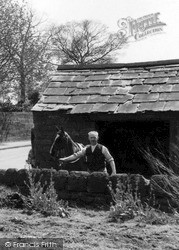 Willaston, The Smithy c.1940