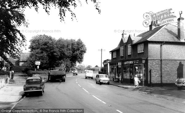 Photo of Willaston, The Village c.1965