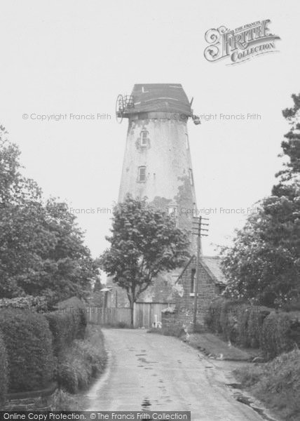 Photo of Willaston, The Windmill And Mill Lane c.1960