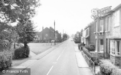 Wistaton Road c.1965, Willaston
