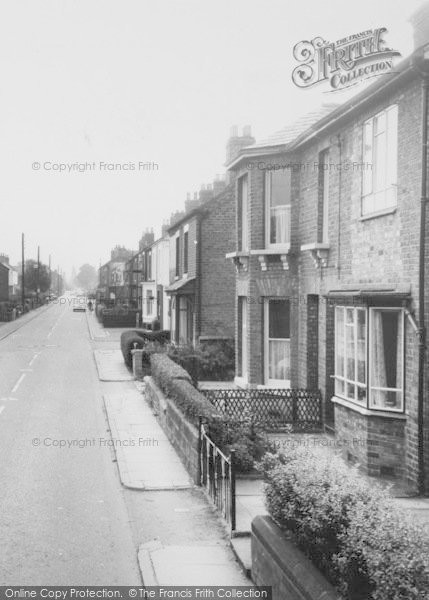 Photo of Willaston, Wistaton Road c.1965