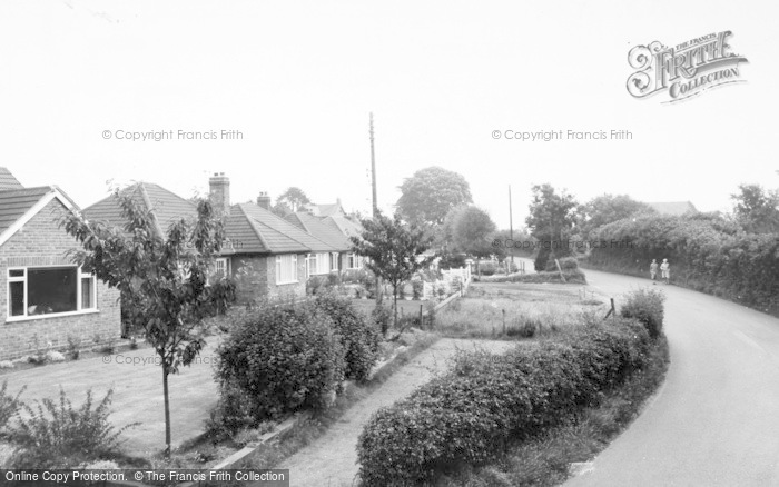 Photo of Willaston, Wybunbury Road c.1965