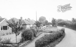 Willaston, Wybunbury Road c.1965