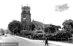 Willenhall, Parish Church Of St Giles c.1965