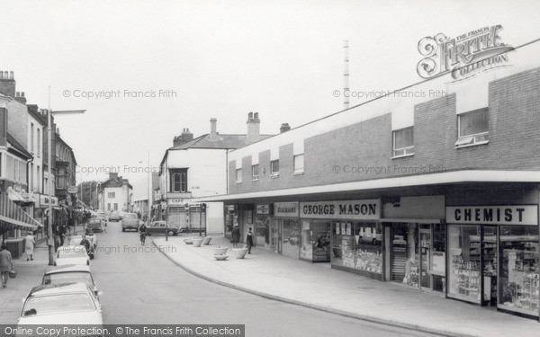 Photo of Willenhall, Stafford Street c.1965