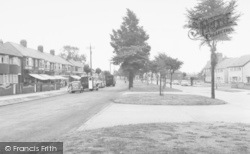 Willerby, Kingston Road c.1960