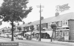 The Parade, Kingston Road c.1960, Willerby