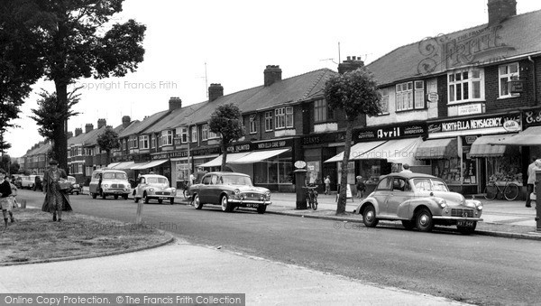 Photo of Willerby, The Parade, Kingston Road c.1960