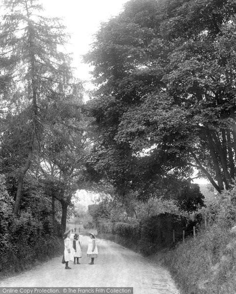 Photo of Willesborough, Sandy Lane 1909