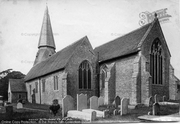 Photo of Willesborough, St Mary's Church 1901