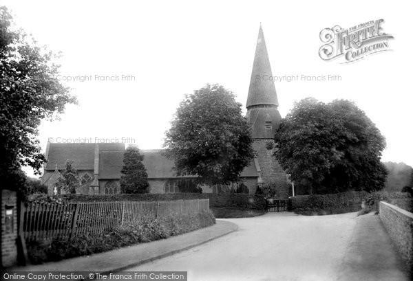 Photo of Willesborough, St Mary's Church 1909