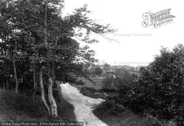 Photo of Willesborough, The Lees 1909