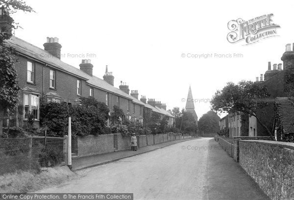 Photo of Willesborough, The Village 1909