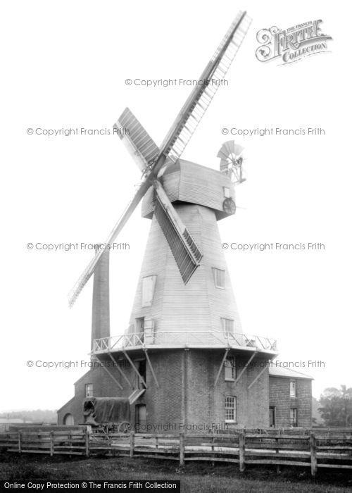 Photo of Willesborough, The Windmill 1909