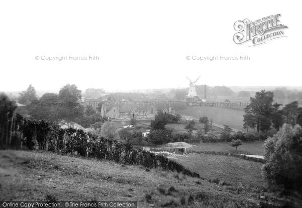 Willesborough,the Windmill and Schools 1909,Kent