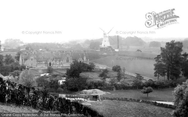 Photo of Willesborough, The Windmill And Schools 1909
