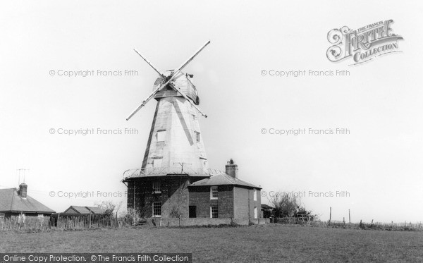 Photo of Willesborough, The Windmill c.1960