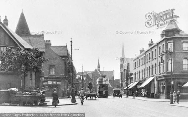 Photo of Willesden, High Road c.1910