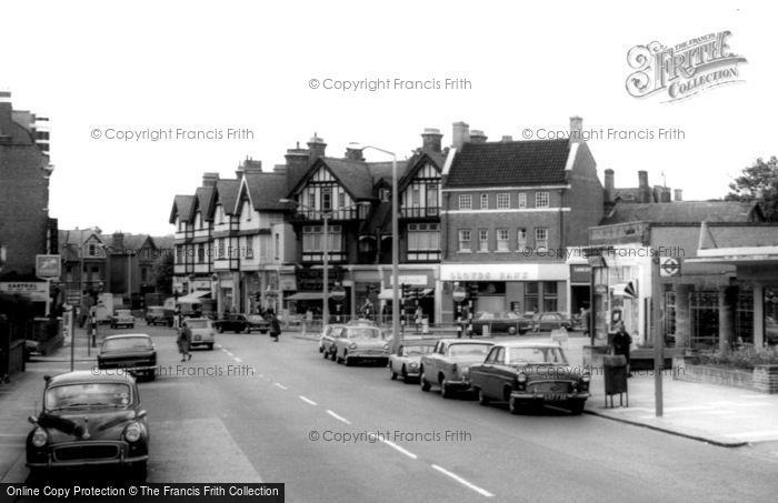 Photo of Willesden, High Road c.1965