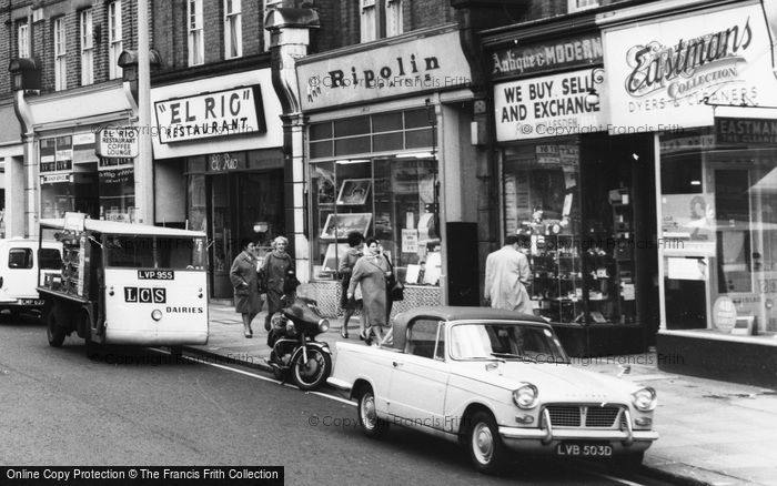 Photo of Willesden, Milk Float, Walm Lane c.1965
