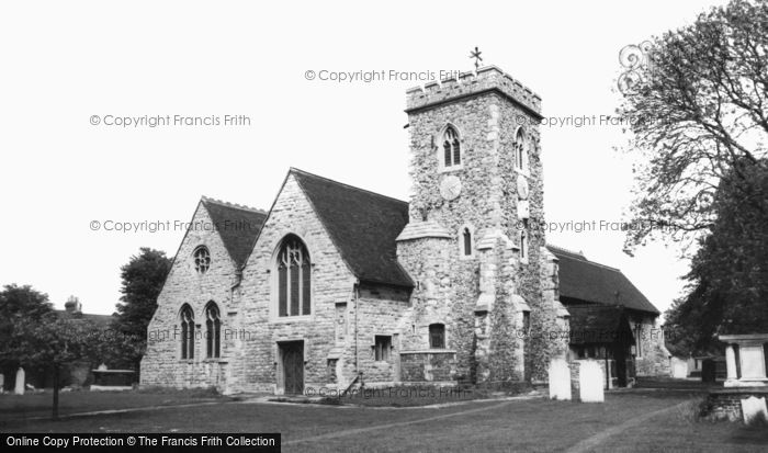 Photo of Willesden, St Mary's Church c.1965